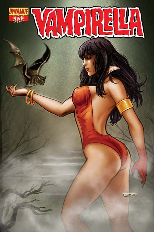 Vampirella #13 cover by Fabiano Neves