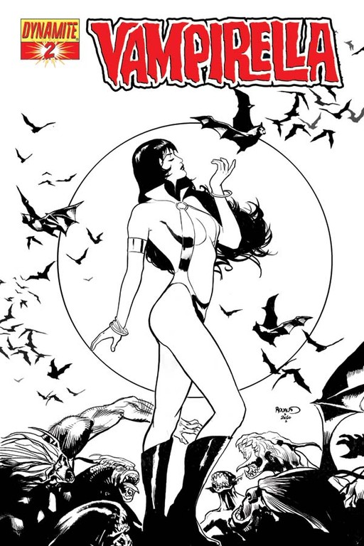 Black & White Variant Cover by Paul Renaud.