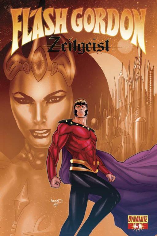 Flash Gordon: Zeitgeist #3 cover by Paul Renaud.