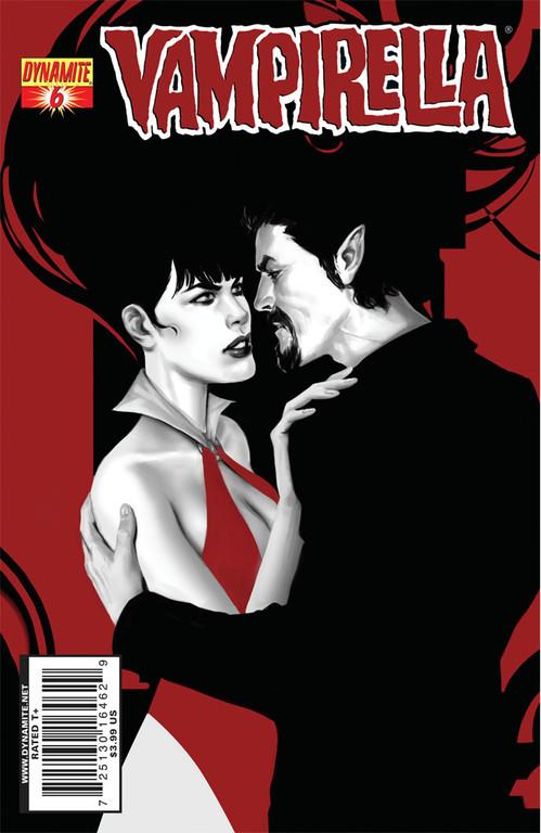 Vampirella #6 cover by Jelena Kevic-Djurdjevic