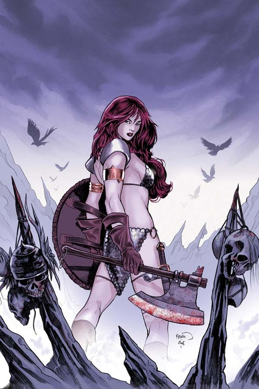 "Red Sonja #51 ""Virgin"" incentive cover by Paul Renaud"