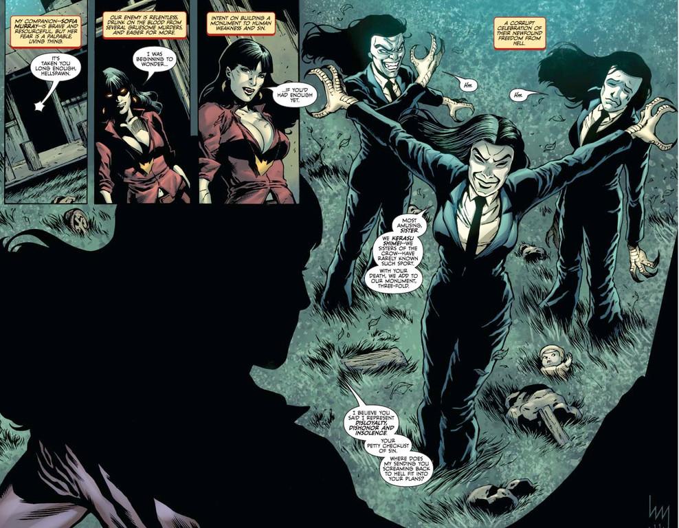 Vampirella #10: Page 1 (Script: Trautmann / Art: Michael)