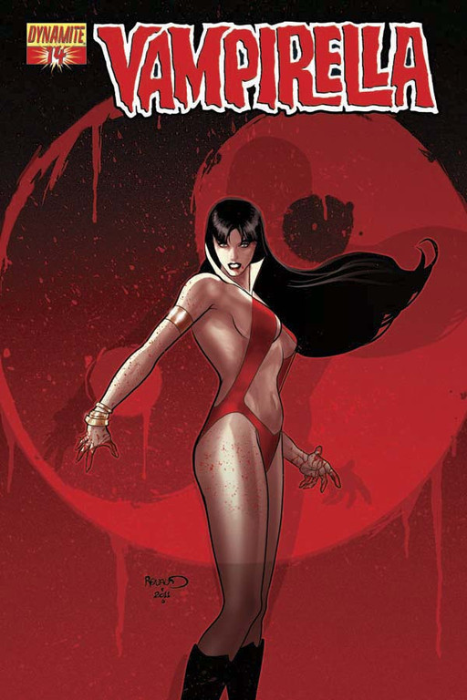 Vampirella #14 cover by Paul Renaud
