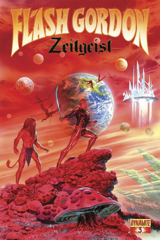 Flash Gordon: Zeitgeist #3 cover by Alex Ross