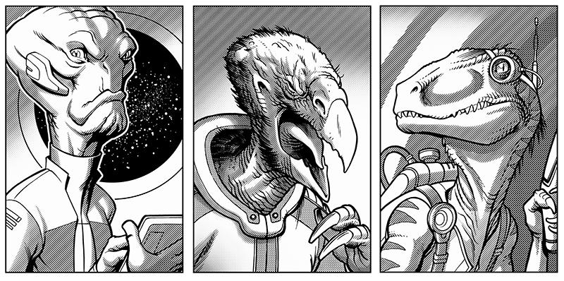 Illustrations by Darren Calvert