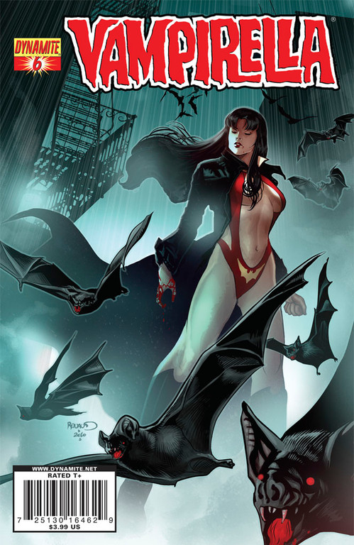 Vampirella #6 cover by Paul Renaud