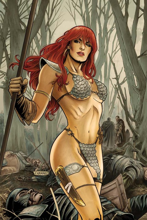 "Red Sonja #60 ""Virgin"" incentive cover by Fabiano Neves"