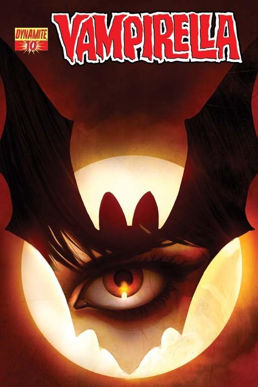 Vampirella #10 cover by Jelena Kevic-Djurdjevic
