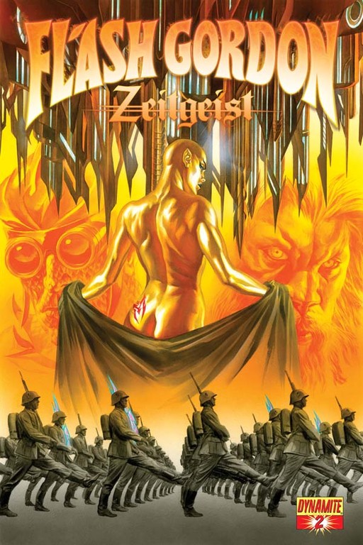 Flash Gordon: Zeitgeist #2 cover by Alex Ross.