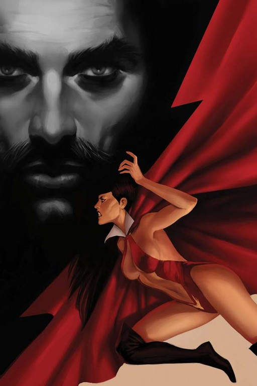 "Vampirella #5 ""Virgin"" Incentive cover by Jelena Kevic-Djurdjevic"