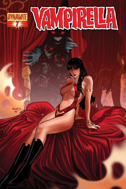 Vampirella #7 cover by Paul Renaud