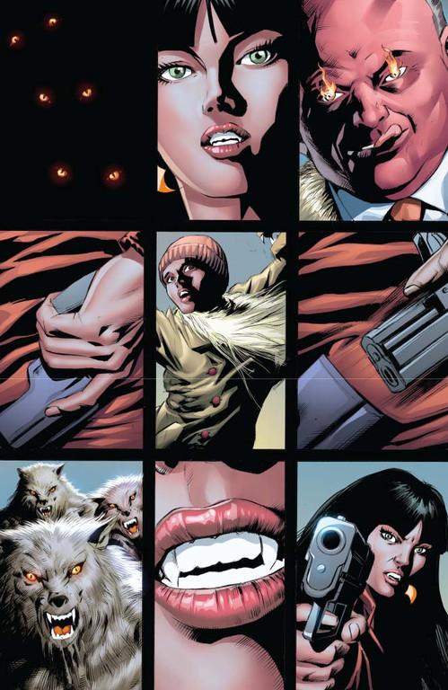 Vampirella #13 — Page 1 (Script: Trautmann / Art: Malaga)