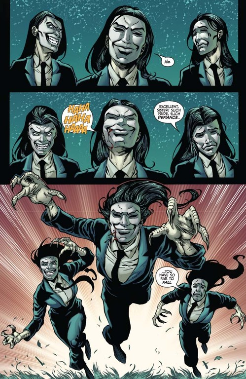 Vampirella #10: Page 4 (Script: Trautmann / Art: Michael)