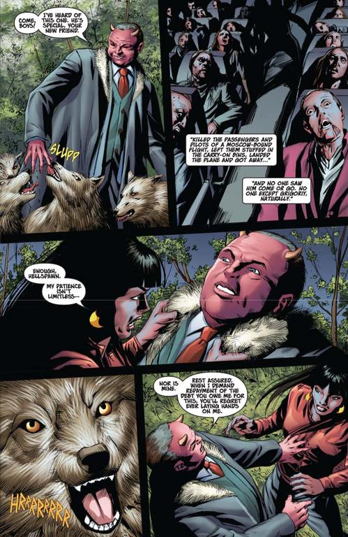 Vampirella #13 — Page 4 (Script: Trautmann / Art: Malaga)