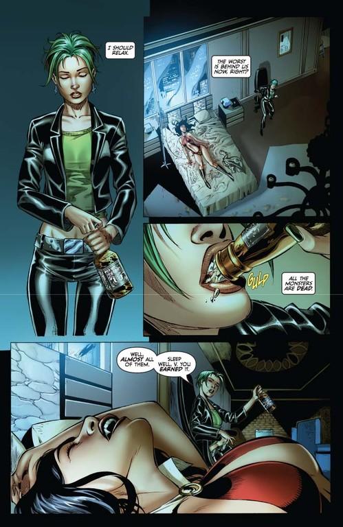 Vampirella #7 page 4 (script: Trautmann / art: Geovani)