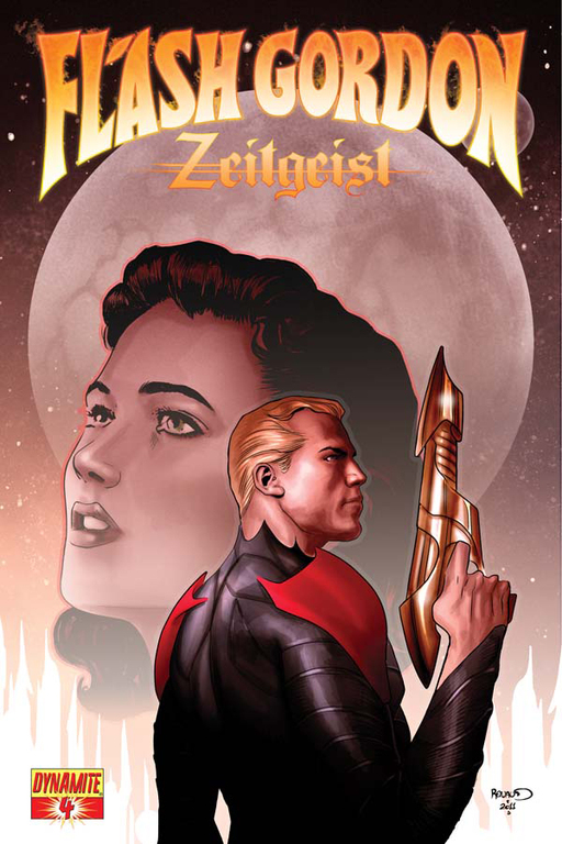 Flash Gordon: Zeitgeist #4 cover by Paul Renaud