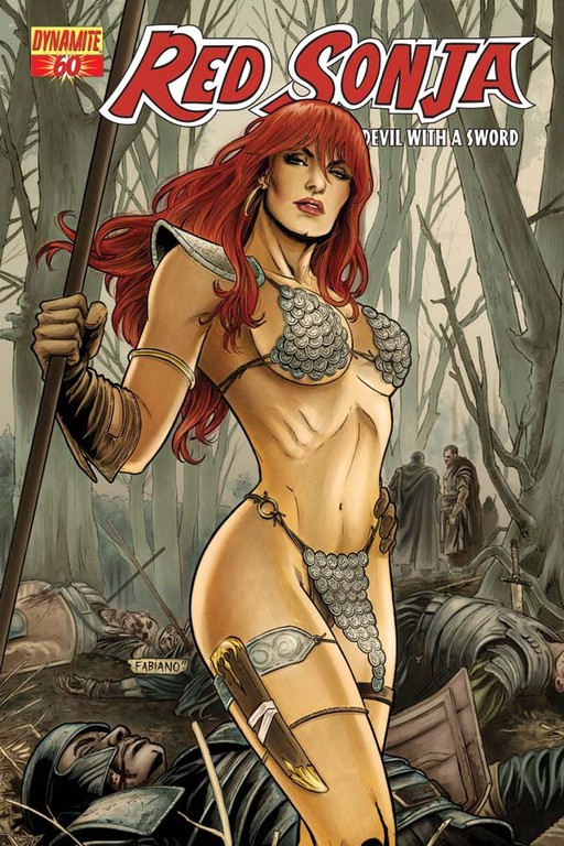 Red Sonja #60 cover by Fabiano Neves