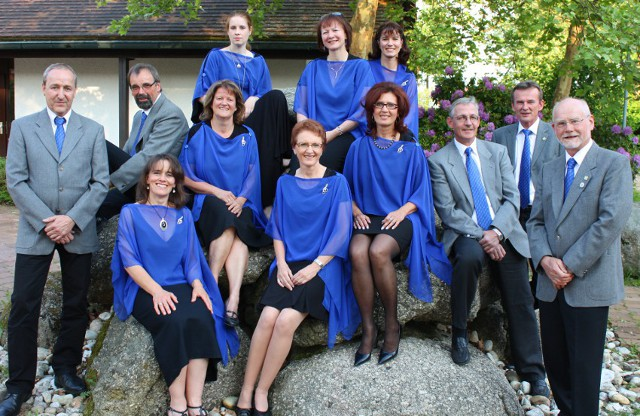 Gruppenfoto Ausschuss des Singkreis Bernhardswald