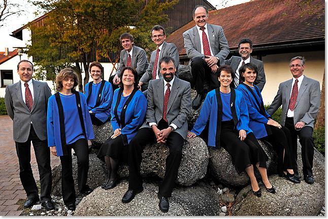 Gruppenfoto Ausschuss (und Vorstand) des Singkreis