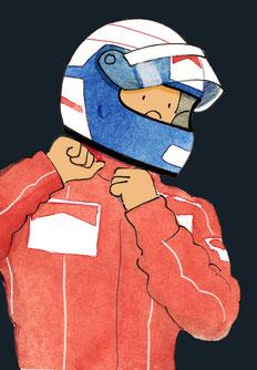 Alain Prost  by Muneta & cerracín