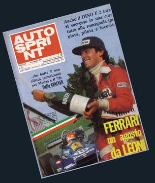 Ferrari un agosto da Leoni (Lamberto) in Autosprint