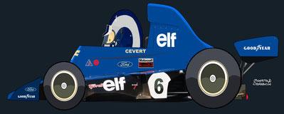 François Cevert by Muneta & Cerracín