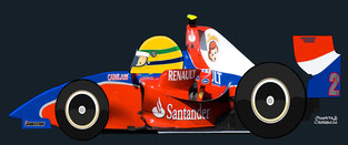 Bruno Senna by Muneta & Cerracín -  iSport International at the Silverstone round of the 2008 GP2