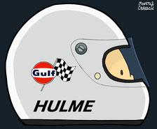 Denny Hulme by Muneta & Cerracín