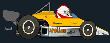Loris Kessel by Muneta & Cerracín - Jolly Club Switzerland : Apollon Fly - Ford Cosworth V8