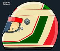 Helmet of ANDREA de CESARIS by Muneta & Cerracín