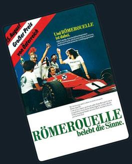 Niki Lauda veviendo Romerquelle