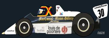 Thierry Boutsen by Muneta & Cerracín