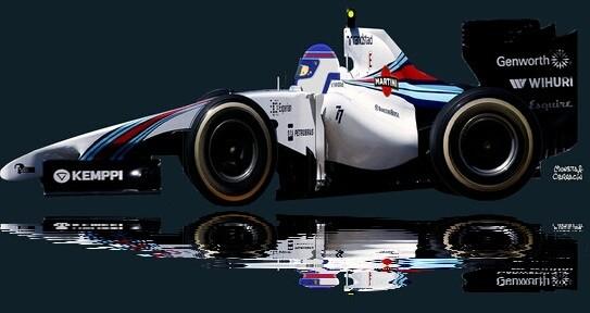 Valtteri Bottas by Muneta & Cerracín - Valtteri Bottas con su Williams FW36 – Mercedes PU106A