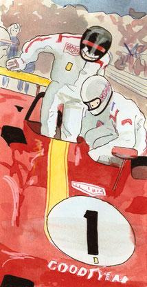 Brian Redman by Muneta & Cerracín