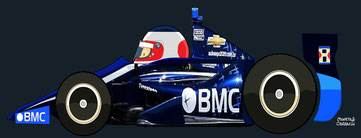 Rubens Barrichello by Muneta & Cerracín -BMC  Hyundai KV Racing Technology Chevrolet 2012