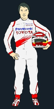 Timo Glock by Muneta & Cerracín