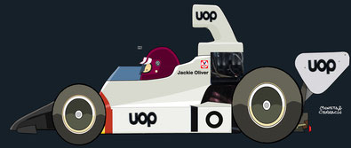 Jackie Oliver by Muneta & Cerracín - Shadow DN6 - Chevrolet