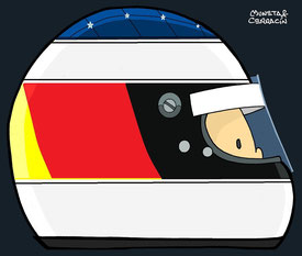Michael Schumacher by Muneta & Cerracín