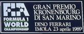 IXº Gran Premio di San Marino de 1989