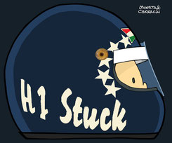Helmet of Hans Stuck Jr by Muneta & Cerracín