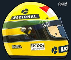 Ayrton Senna da Silva by Muneta & Cerracín