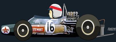 Jackie Stewart by Muneta & Cerracin