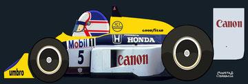 Nigel Ernest James Mansell by Muneta & Cerracín