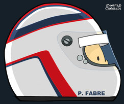 Helmet of Pascal Fabre by Muneta & Cerracín