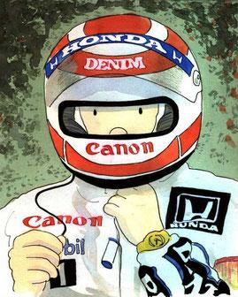 Nelson Piquet Campeón del Mundo by Muneta & Cerracín