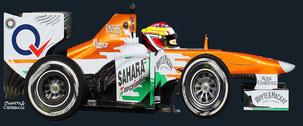 James Calado by Muneta & Cerracín - Force India VJM06 Mercedes
