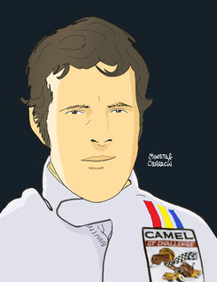 Brian Redman by Muneta & Cerracín