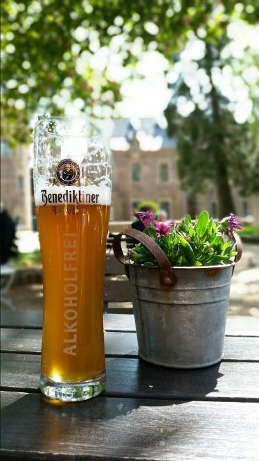 Weißbier Biergarten Erholung Bergheim Paffendorf Stimmung fotografieren smartphonephotographie