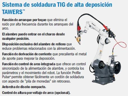 tig tawers automatizacion tig robot tig robots tig