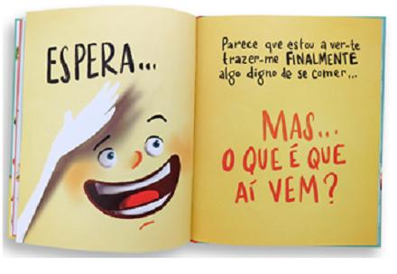 Portugiesisches Kinderbuch von Autor André Madaleno - O livro com fome